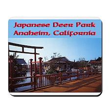 Japanese Deer Park Mousepad
