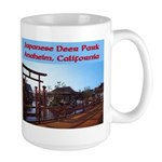 Japanese Deer Park Large Mug