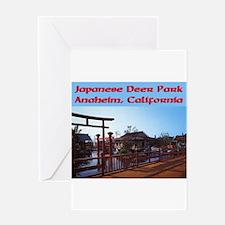 Japanese Deer Park Greeting Card