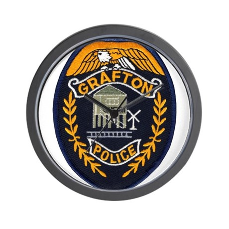 Grafton Police Wall Clock