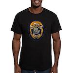 Grafton Police Men's Fitted T-Shirt (dark)