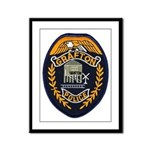 Grafton Police Framed Panel Print