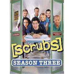 Scrubs: The Complete Third Season Dvd