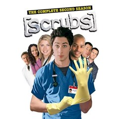 Scrubs: The Complete Second Season DVD