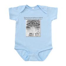 Cow's wisdom... Infant Bodysuit