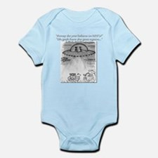 Cow's wisdom... Infant Bodysuit