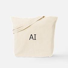 AI Assateague Island Logo Tote Bag