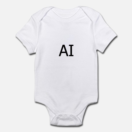 AI Assateague Island Logo Infant Bodysuit