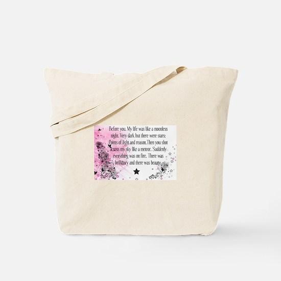 Unique Twilight quotes Tote Bag