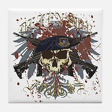 Security Forces Skull Urban I Tile Coaster