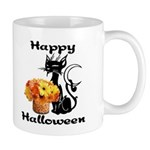 Halloween Black Cat Mug