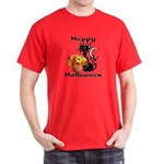 Halloween Black Cat Dark T-Shirt