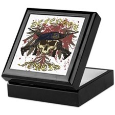 Security Forces Skull Rifles Keepsake Box