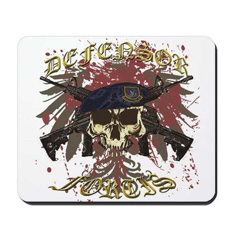 Security Forces Skull Rifles Mousepad