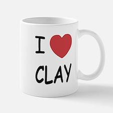 I heart clay Mug