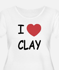 I heart clay T-Shirt