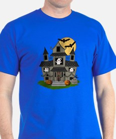 Halloween Haunted House Ghosts T-Shirt