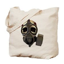 BioSkull Mask Tote Bag