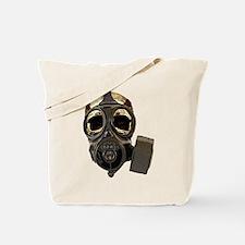 BioSkull Mask Tote Bag