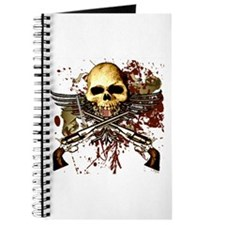 Skull w/ Sixguns, Urban Journal