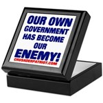 OUR OWN GOVERNMENT HAS BECOME OUR ENEMY! Keepsake
