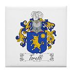 Torelli Coat of Arms Tile Coaster