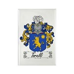 Torelli Coat of Arms Rectangle Magnet (100 pack)