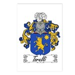 Torelli Coat of Arms Postcards (Package of 8)