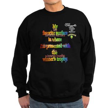 Colorful tennis Sweatshirt (dark)