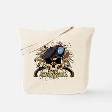 MP Skull Pistols Urban Color Tote Bag