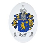 Torelli Coat of Arms Oval Ornament