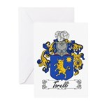 Torelli Coat of Arms Greeting Cards (Pk of 10)