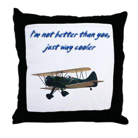 Way Cooler Waco Throw Pillow
