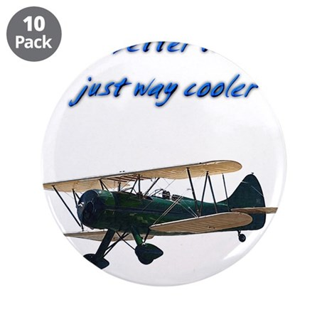 """Way Cooler Waco 3.5"""" Button (10 pack)"""