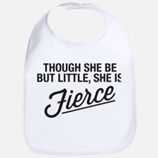 She Is Fierce Baby Bib