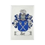 Tonti Coat of Arms Rectangle Magnet (100 pack)