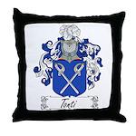 Tonti Coat of Arms Throw Pillow