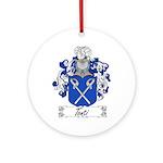 Tonti Coat of Arms Ornament (Round)