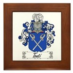 Tonti Coat of Arms Framed Tile
