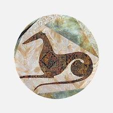 """Tribal Greyhound 3.5"""" Button"""