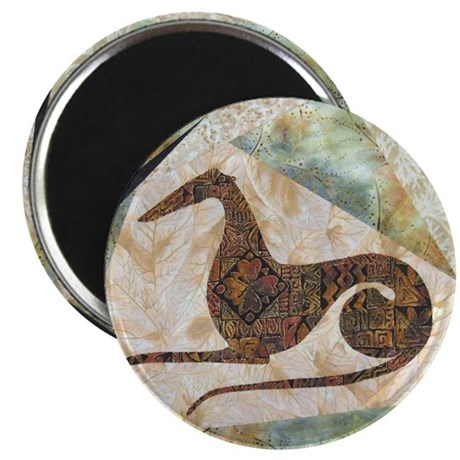 "Tribal Greyhound 2.25"" Magnet (100 pack)"