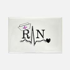 Unique Registered nurse oncology Rectangle Magnet