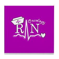 Unique Oncology rn Tile Coaster