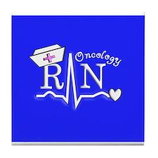 Funny Rn oncology Tile Coaster
