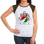 Tonini Coat of Arms Women's Cap Sleeve T-Shirt
