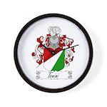 Tonini Coat of Arms Wall Clock