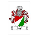 Tonini Coat of Arms Postcards (Package of 8)