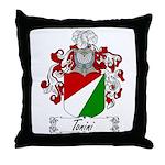 Tonini Coat of Arms Throw Pillow