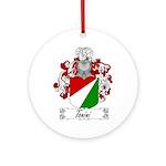 Tonini Coat of Arms Ornament (Round)