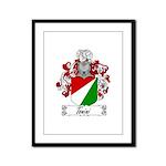 Tonini Coat of Arms Framed Panel Print